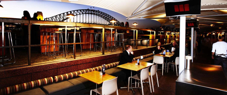 Bromic Heizstrahler Gastronomie Blick über Sydney