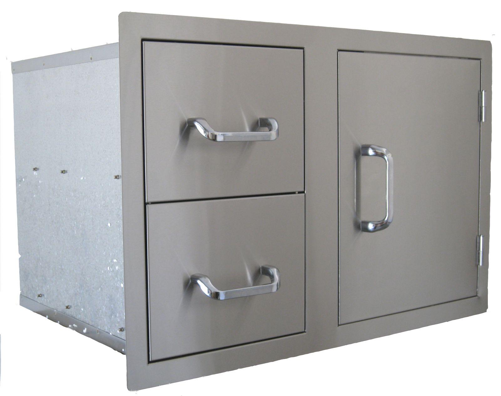 Outdoorküche Tür Günstig : Outdoorküche doppelschublade zugangstür kombination roc products