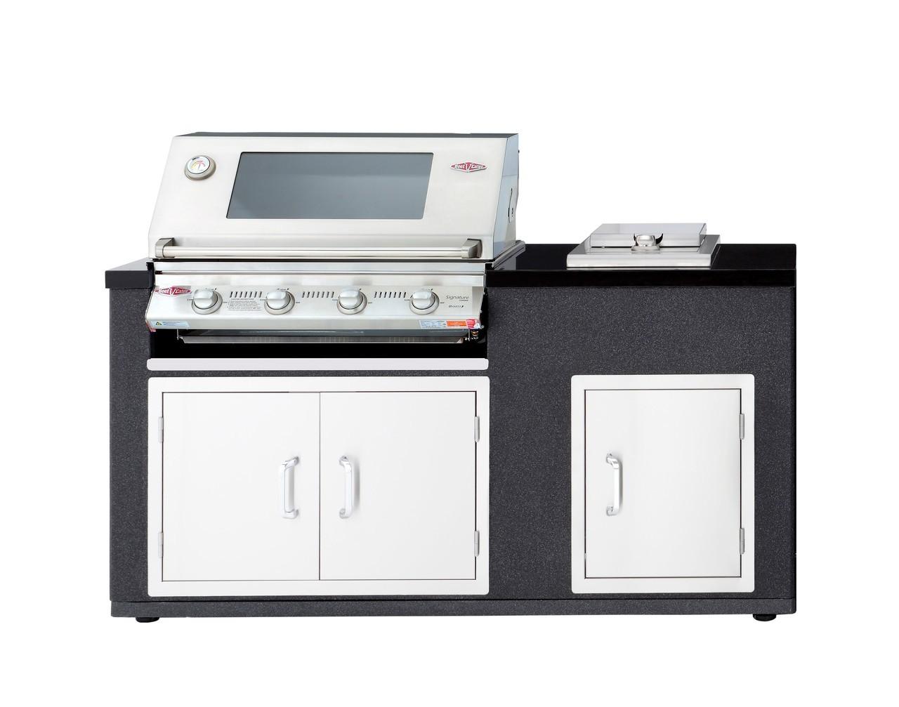 Outdoorküche Tür Vergleich : Outdoorküche artisan grillmodul s3000s mit seitenbrenner & türen